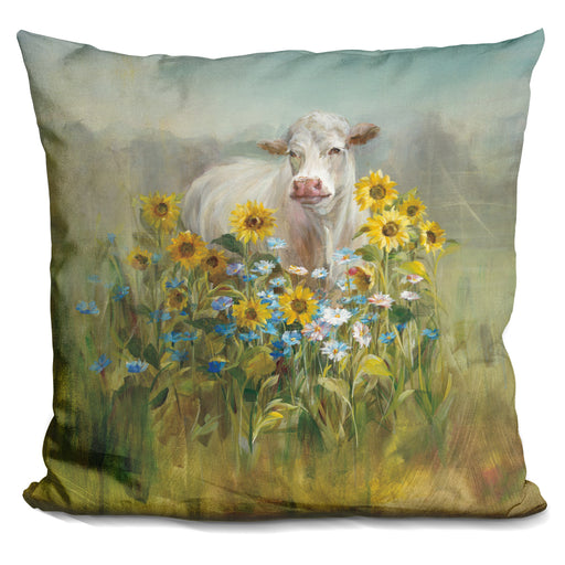 Farm And Field I Pillow