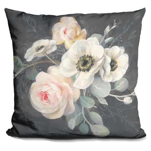 Roses and Anemones Pillow