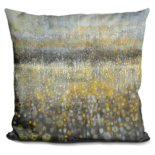 Rain Abstract II Pillow