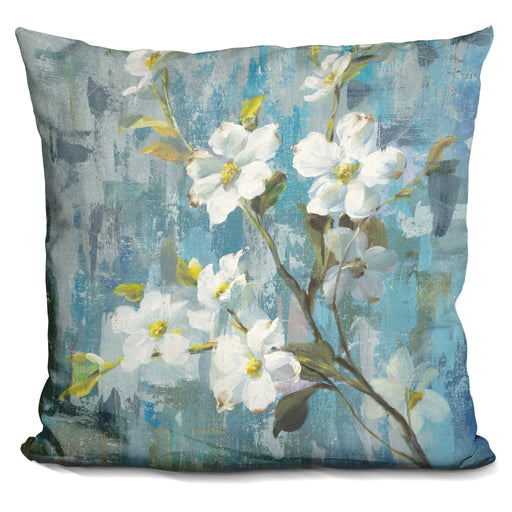 Graceful Magnolia II Pillow