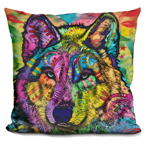 The Stare Of The Wolf Pillow