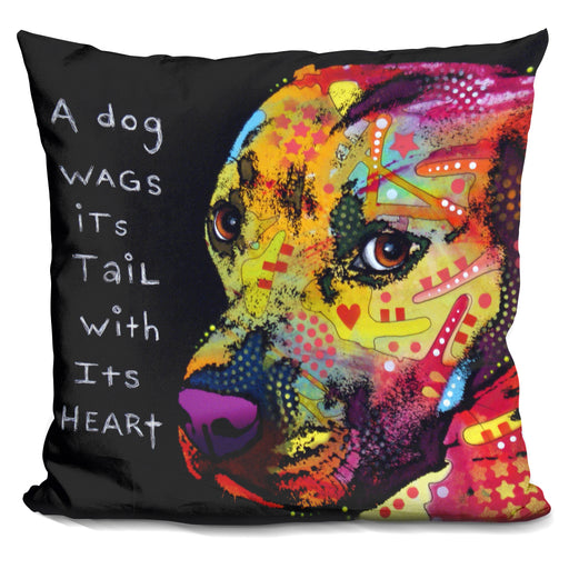 Gratitude Pitbull Pillow