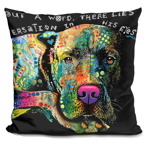 Without A Word Pillow