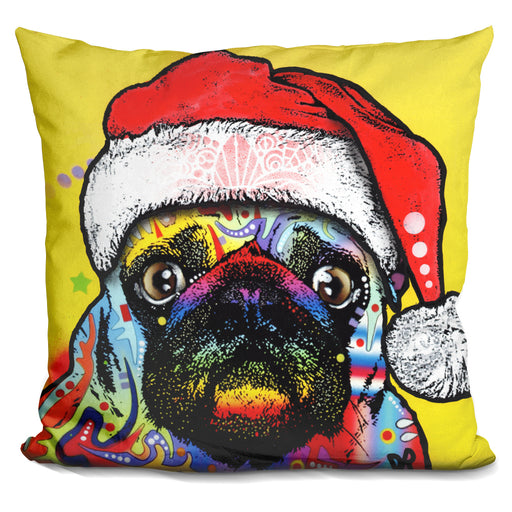 Pug Christmas Edition Pillow