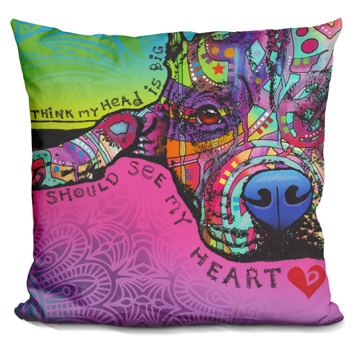 You Should See My Heart Pillow