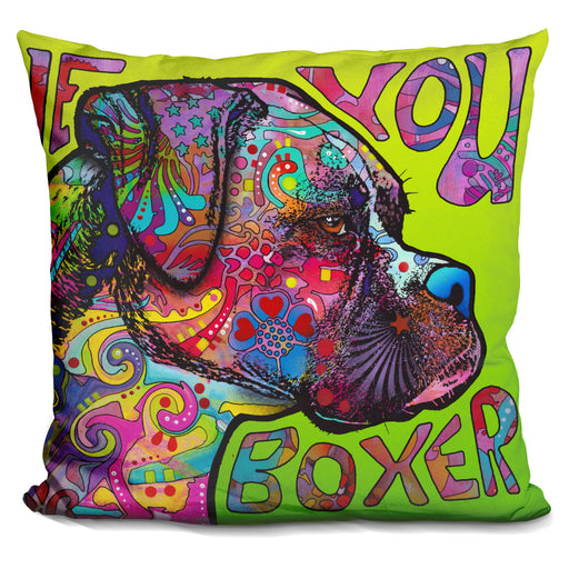 Love You Boxer Pillow