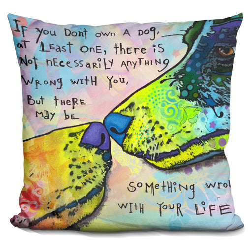 Of Life And Dog Pillow