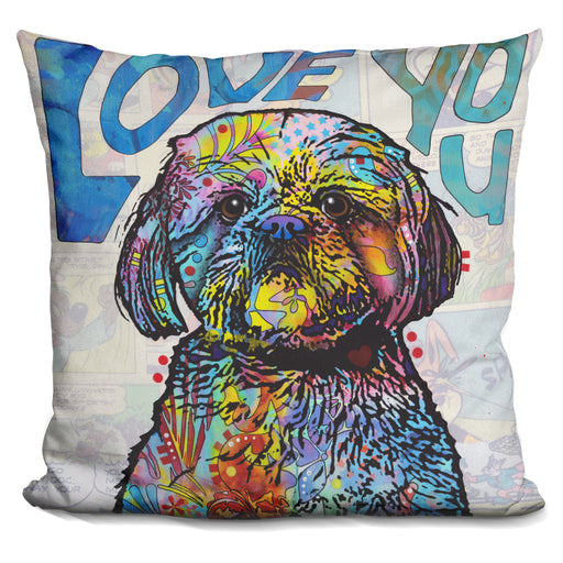 Love You Shih Tzu Pillow