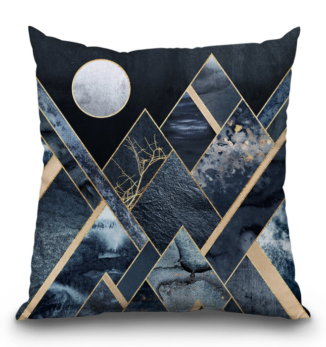 Stormy Mountains Pillow