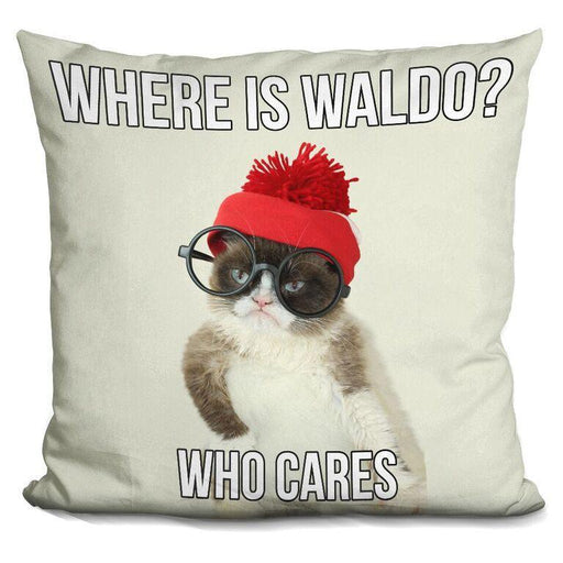 Where is Waldo, who cares