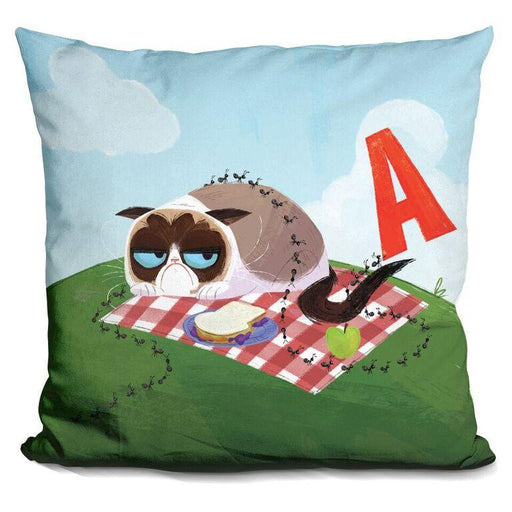 A Is for Ants Pillow