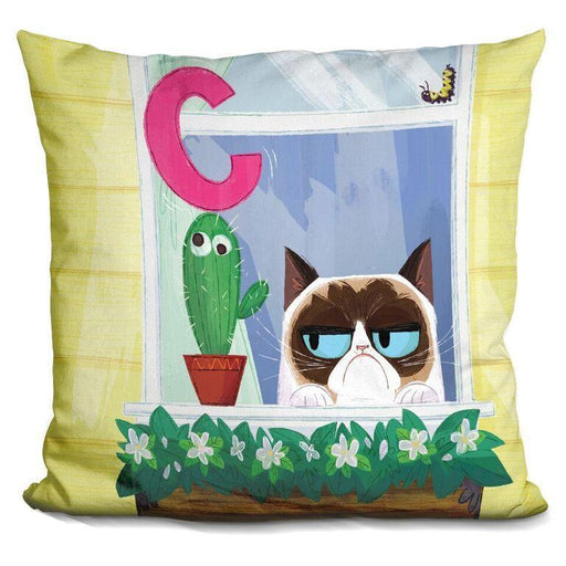 C Is For Cactus Pillow