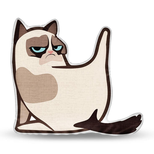 WHAT ARE YOU LOOKING AT-GRUMPY CAT Pillow