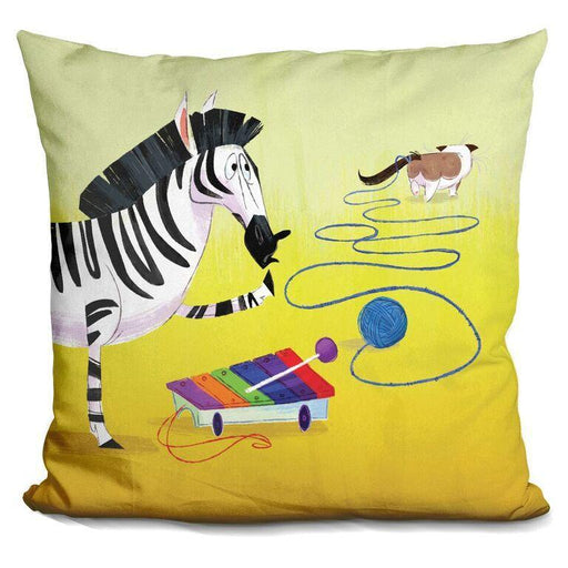 Z is for Zebra Pillow