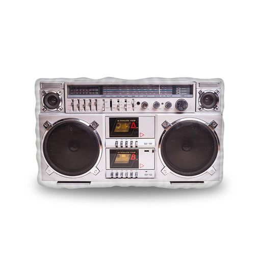 Vintage Boom Box Pillow