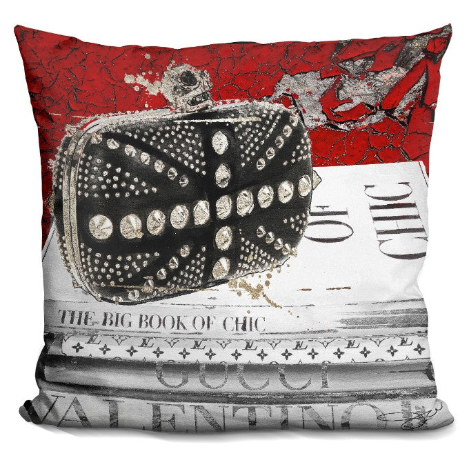 Book Of Chic Pillow