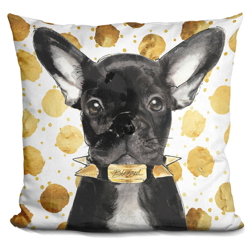 Blessed Frenchie Pillow