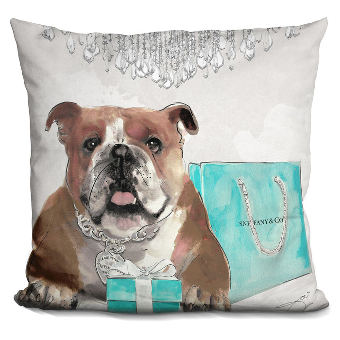 For Me Bulldog/For Me Pillow