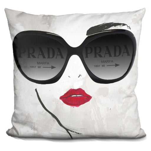 Shades Of Prada  Pillow