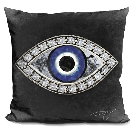 Evil Eye II Pillow