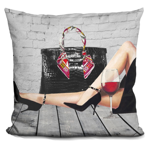 Wine With Me Pillow