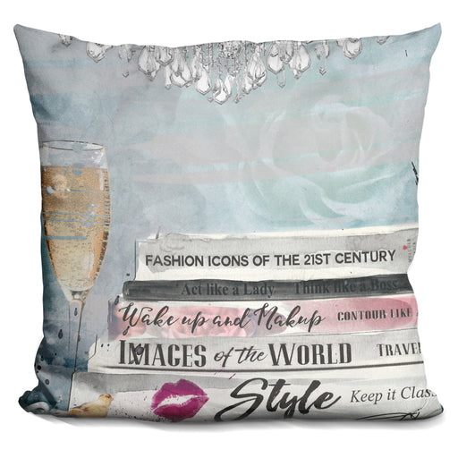 Books Layered Pillow