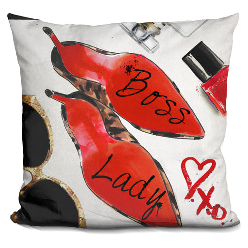 Boss Lady Copy Pillow