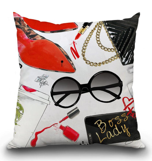Boss Lady 2 Pillow