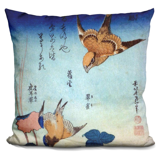 Flora And Fauna Pillow