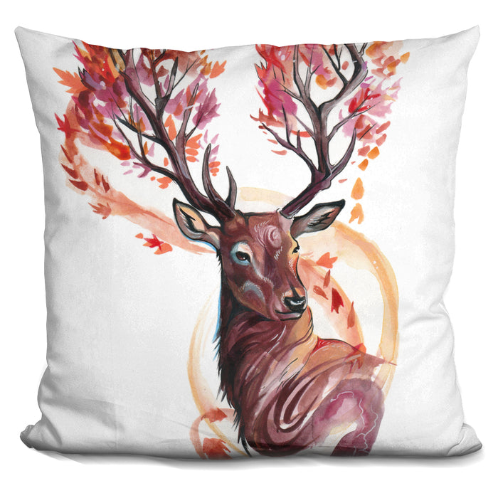 Autumn Stag Pillow
