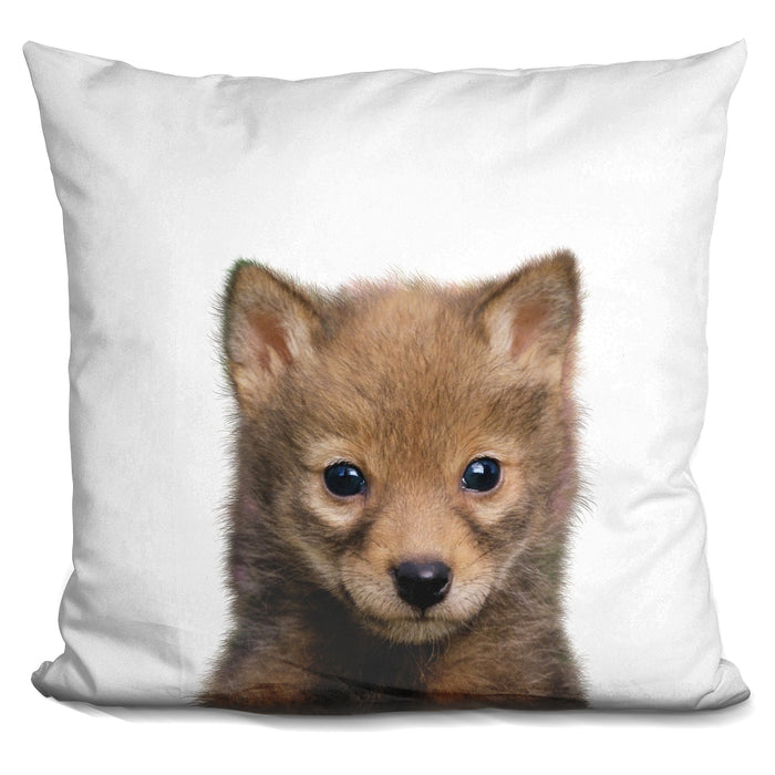 Baby Wolf Lp Pillow