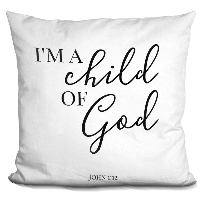 A Child Of God Pillow
