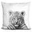 Baby Tiger Bw Pillow