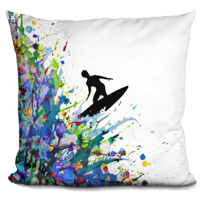 A Pollock'S Point Break Pillow