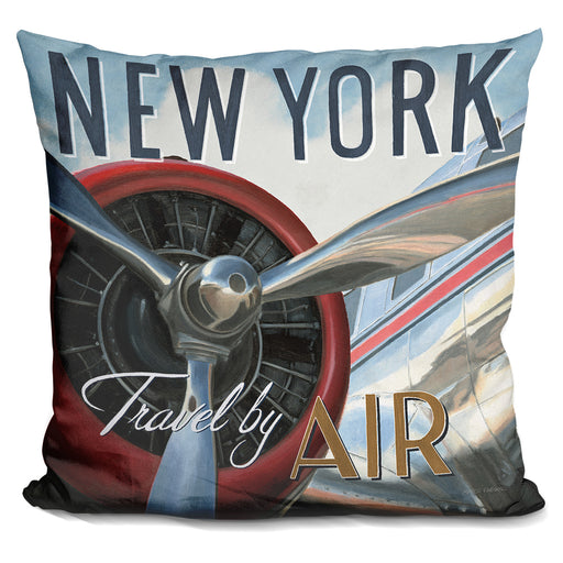 Travel By Air Ii Pillow