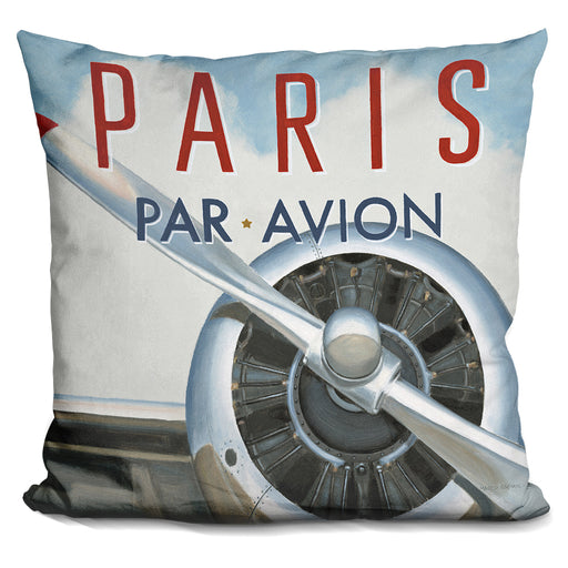Travel By Air Iii Pillow