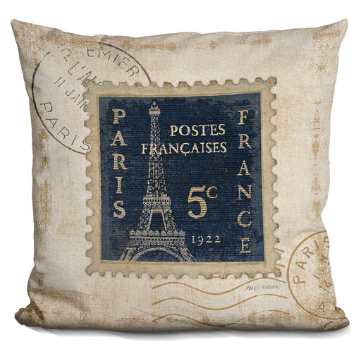 Iconic Stamps I Pillow