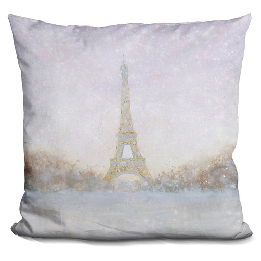 Eiffel With Gold Pillow