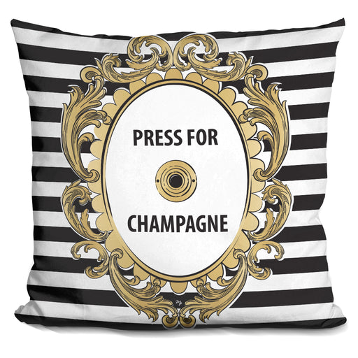 Press For Champagne Pillow
