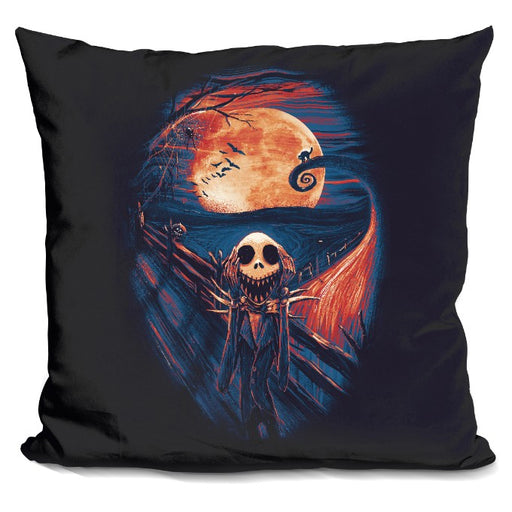 The Scream Before Christmas Pillow