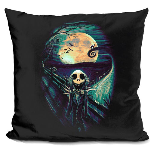 The Scream Before Christmas 3 Pillow