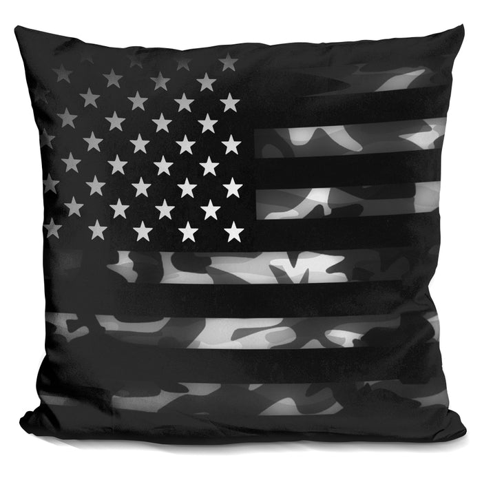 American Camouflage Pillow