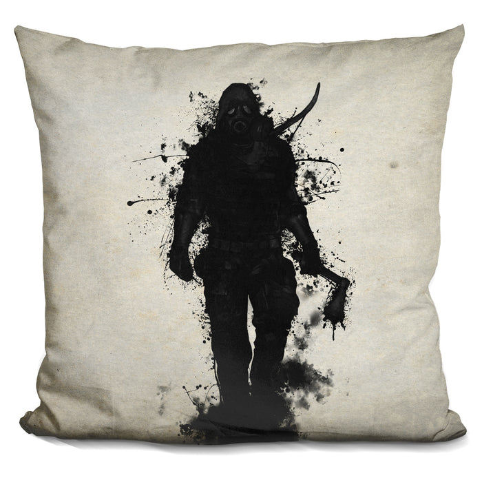 Apocalypse Hunter Pillow