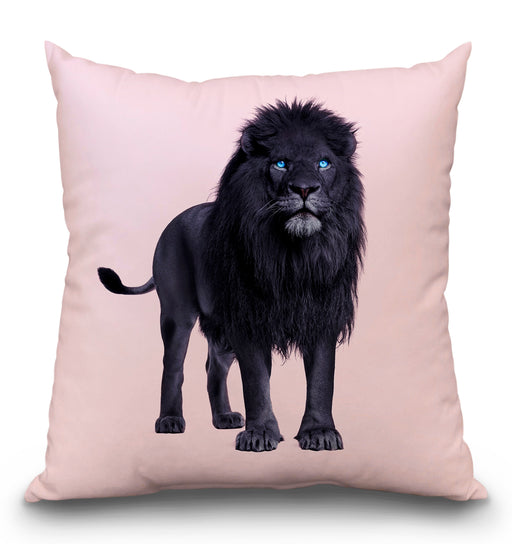 Black Lion Pillow