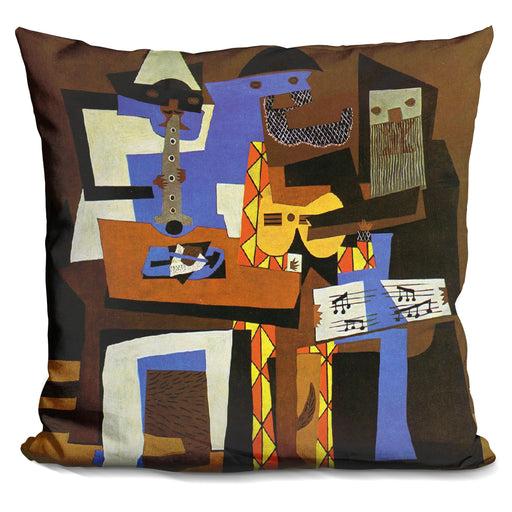 Three Musicians Pillow