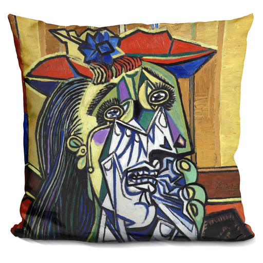 Weeping Woman Pillow