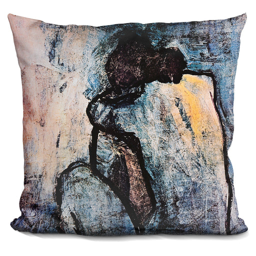 Blue Nude Pillow