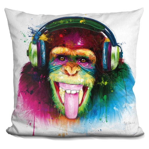 Dj Monkey Pillow