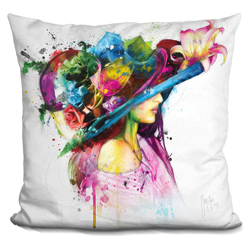 Romantic Flowers Pillow