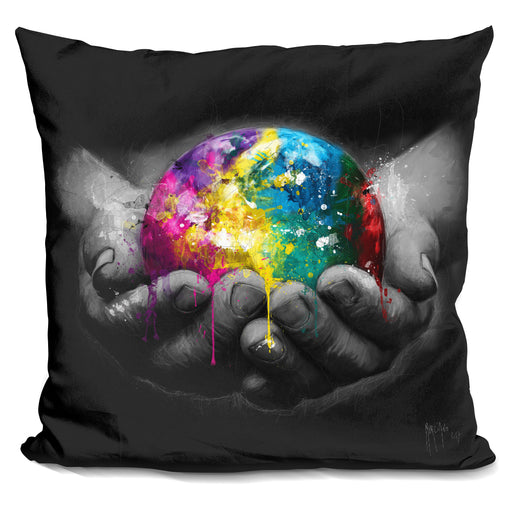 We Are The World Pillow